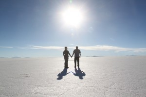 Bolivia - Feature foto salt flat