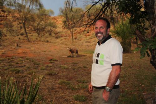 Alice Springs - Kangeroe & Erwin