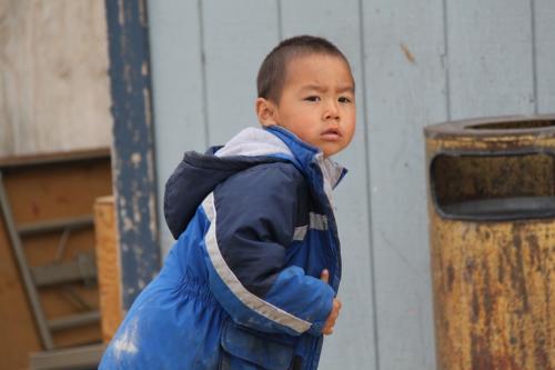 Arctic - Eskimo boy