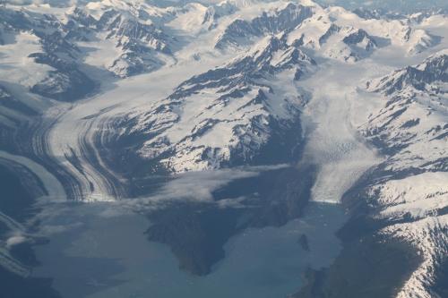 Arctic - Glavier plane view