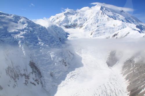 Arctic - Mt McKinley & glacier