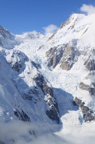 Arctic -Panoramische vlucht