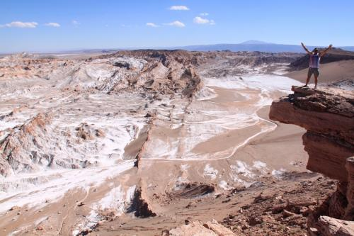 Atacama - View Salt range