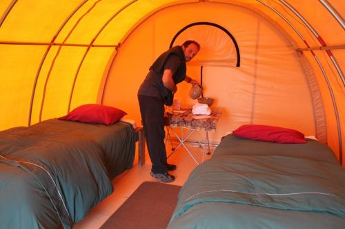 Bearcamp - Tent formule