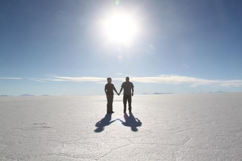Bolivia - Feature foto salt flat