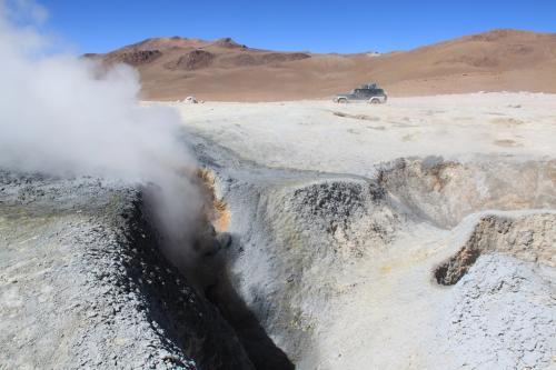 Bolivia - Hot springs