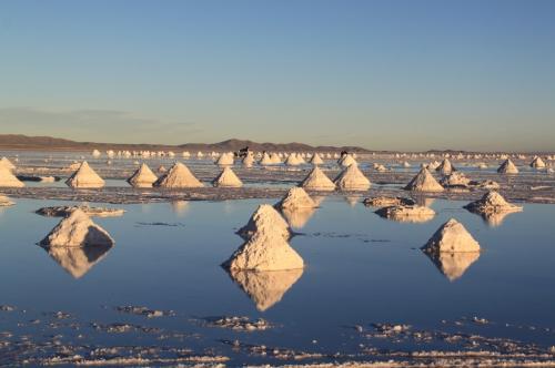 Bolivia - Salt piles 2
