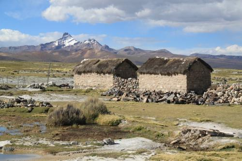 Bolivia - Typical houses