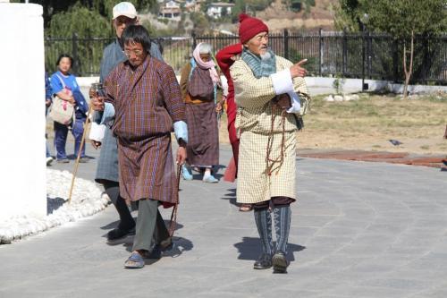 Buthan - Lokale klederdracht