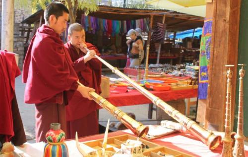 Buthan - Monks testen instrument