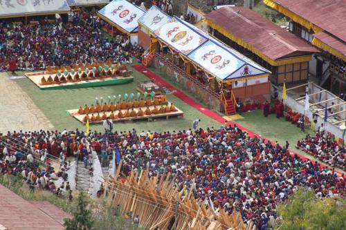 Buthan - Religieus festival