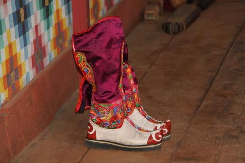 Buthan - Traditionele schoenen