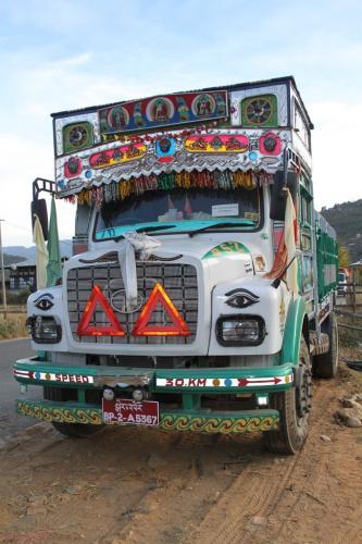 Buthan - Vrachtwagen