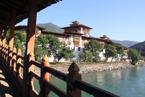 Buthan - Winterpaleis Punakha