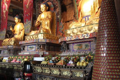 Chengdu - Statues Buddha