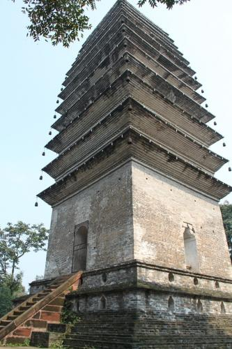 Chengdu - Tower Buddha