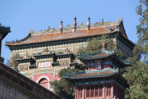 Chinese wall - Tempel zomerpaleis