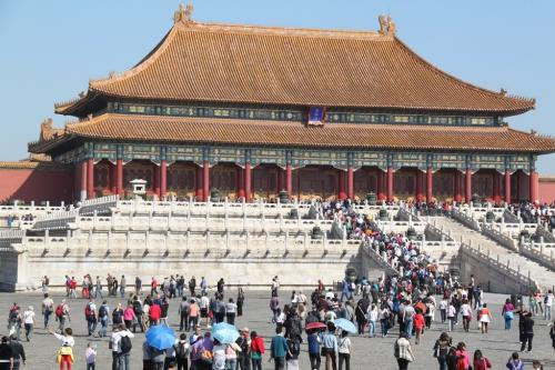 Chinese wall - Verboden stad