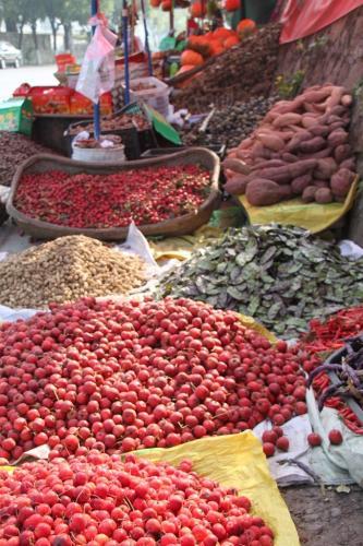 Chinese wall - fruit en groenten