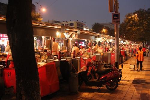 Chinese wall - markt