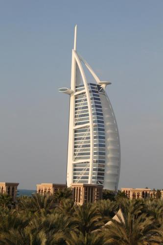 Dubai Bur Al Arab front