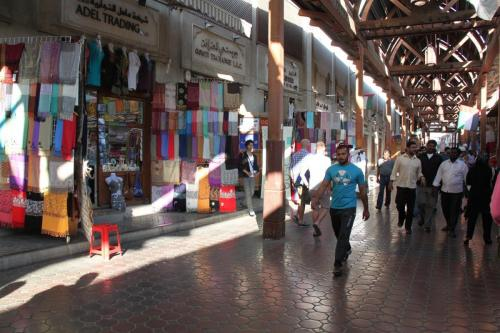 Dubai old souks
