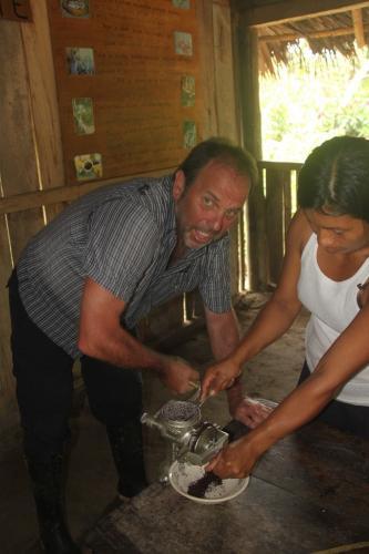 Ecuador - Cacao prep