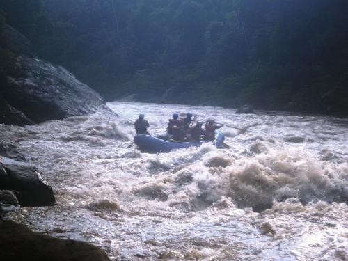 Ecuador - Rafting boot