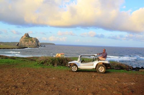 Fernando de Noronha - Buggy achterop