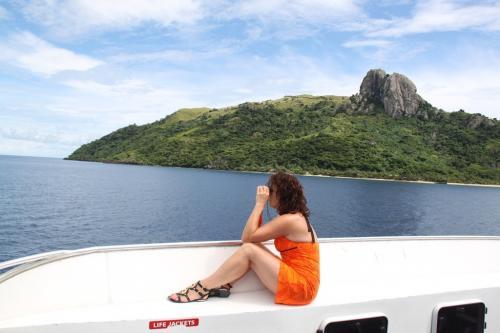 Fiji - bootuitstap
