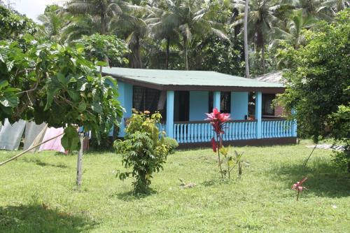 Fiji - kleurrijke huisjes