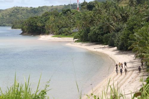 Fiji - panoramische kustlijn