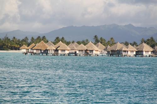 Frans Polynesie - Paal bungalows