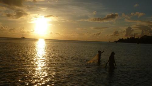 Frans Polynesie - laatste avondzon