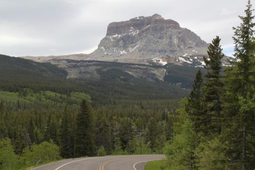 Glacier NP - Chief mountain