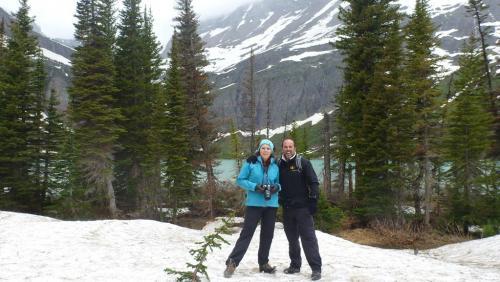 Glacier NP - Lake Grinell