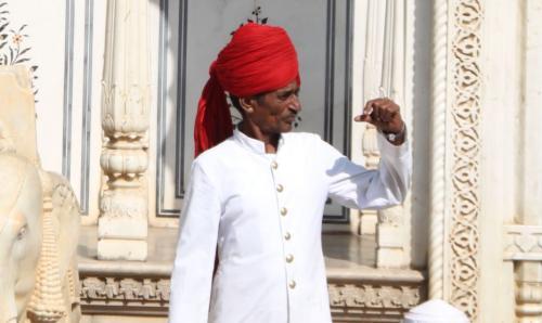 India - Guard paleis