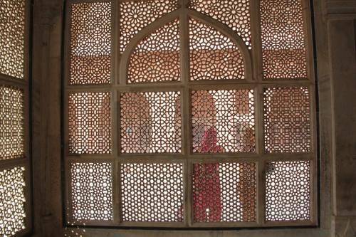 India - Muurpanelen Fatehpur Sikri