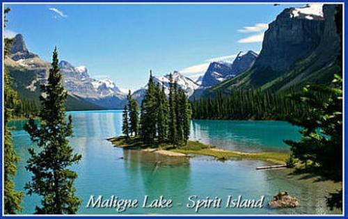 Jasper NP - Maligne lake