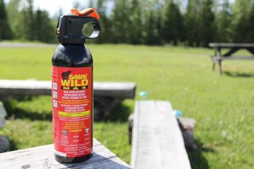 Jasper - pepper spray