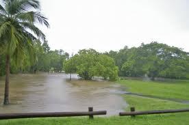 Kakadu flood river