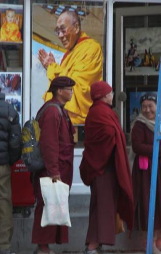 Ladakh - Dalai lama
