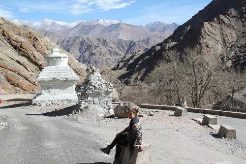 Ladakh - Dede & Stupa