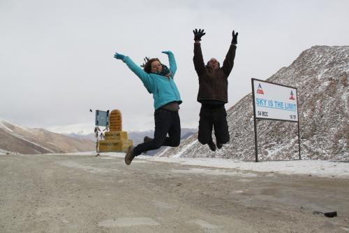 Ladakh - Gat in de lucht