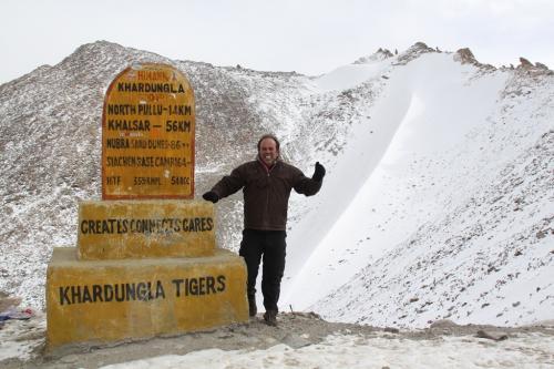 Ladakh - Tiger erwin Khardung La