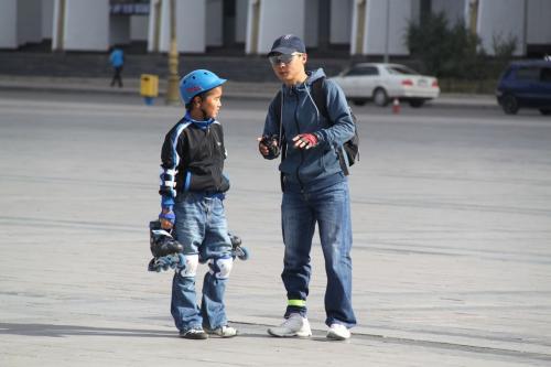 Mongolia - Breakdancing