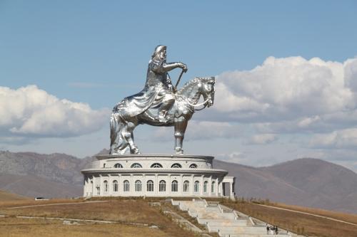 Mongolia - Chinggis Khaan feature foto