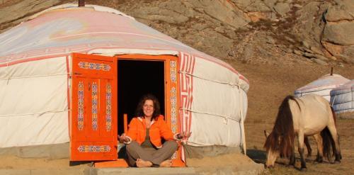 Mongolia - Dede mediteert