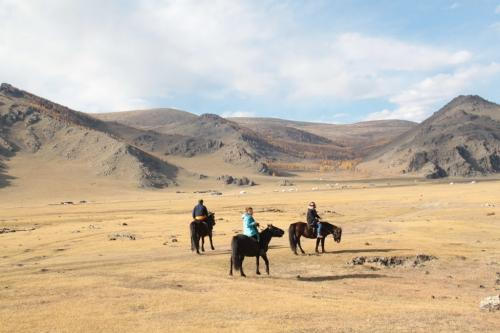 Mongolia - Excursie te paard