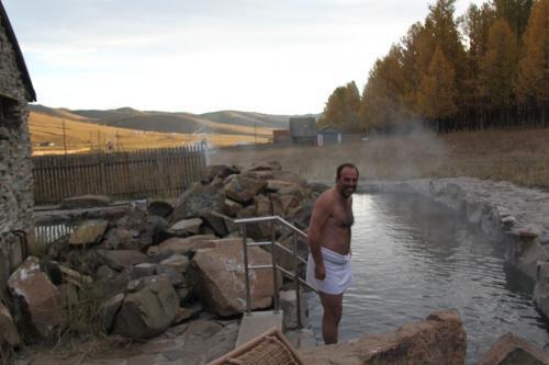 Mongolia - Tsenkher hot springs